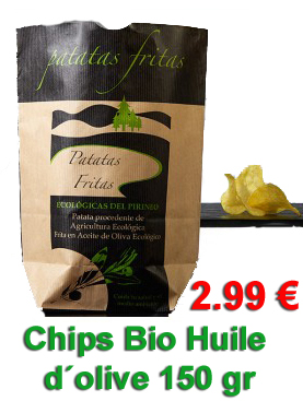 Achat chips bio huile d´olive
